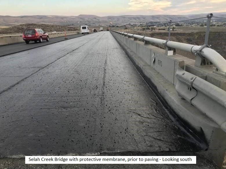 Selah Creek Bridge with membrane w caption